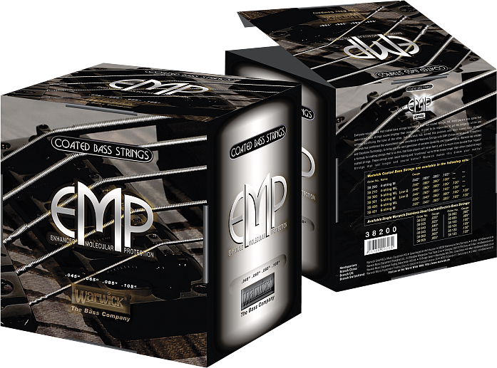 EMP coated Medium (.025 - .135), 38401 M 6