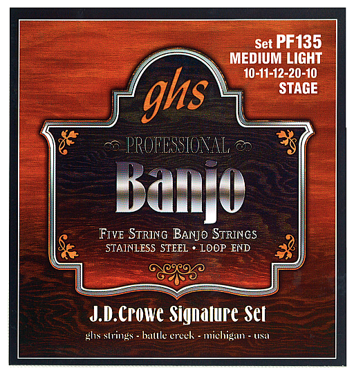 J.D. Crowe Signature,Stainless Steel (.010 - .020), GHS PF 135