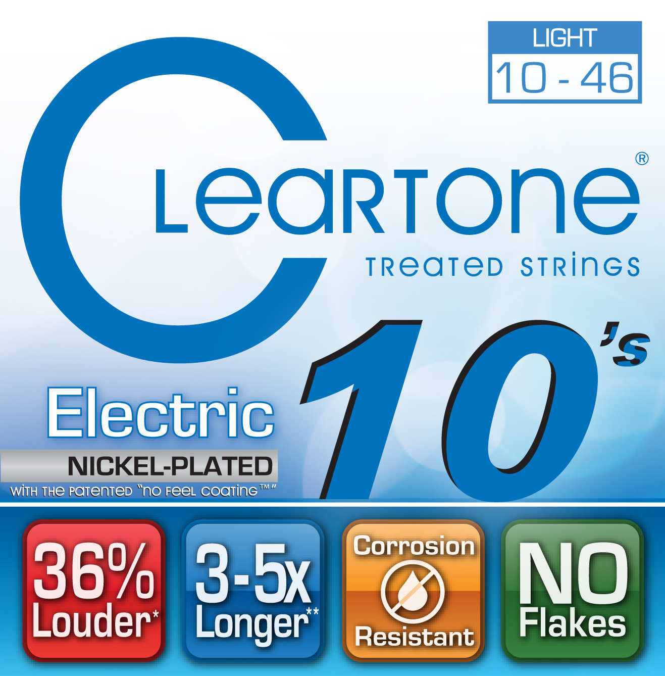 Electric EMP Strings Light (.010 - . 046), CT 9410