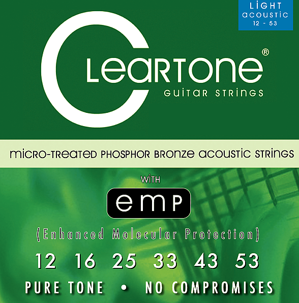 Acoustic EMP Strings Light (.012 - .053), CT 7412