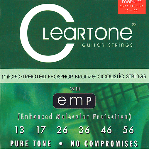 Acoustic EMP Strings Medium (.013 - .056), CT 7413