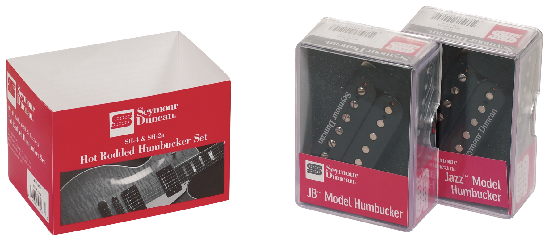 Snímač Humbucker - S-SET HOT RODDED HP