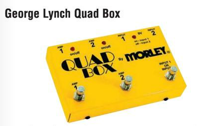 Efekt MO QUAD - George Lynch Quad Box