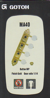 Ladící mechanika GOTOH MA40, MP, G