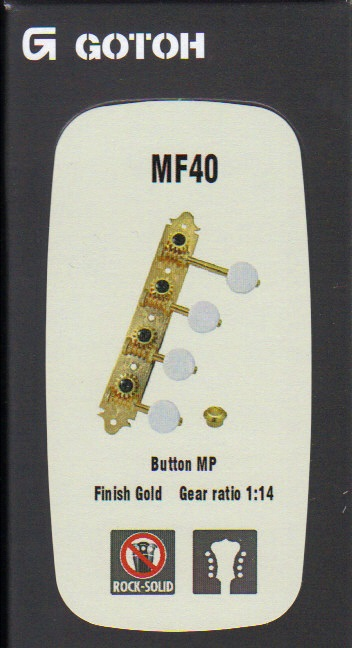 Ladící mechanika GOTOH - MF40, MP, G