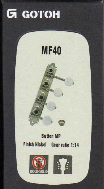 Ladící mechanika GOTOH - MF40, MP, N