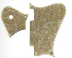 Pickguard Hollywood Perloid Top