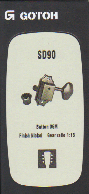 Ladící mechanika GOTOH - SD90, 06M, N