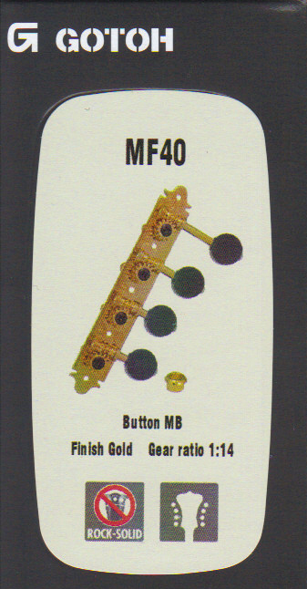 Ladící mechanika GOTOH - MF40, MB, G
