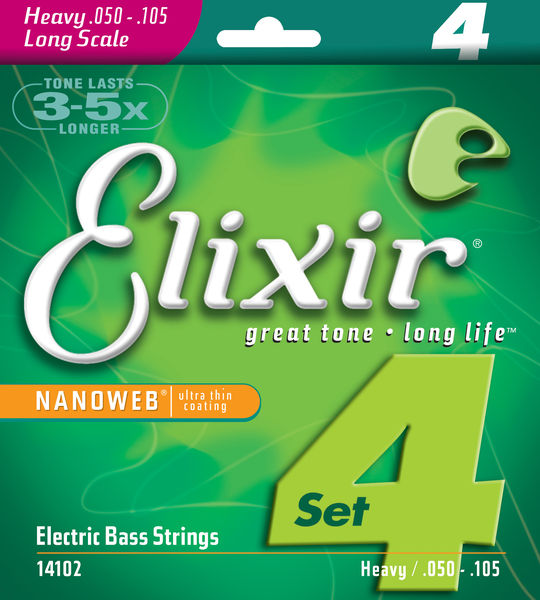 ELIXIR 14102 Heavy-Long Scale